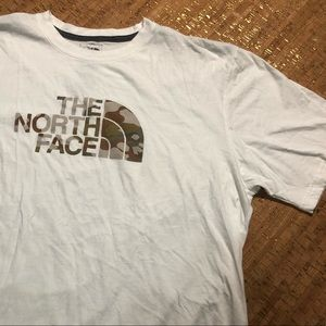 The North Face Camo Logo Shirt